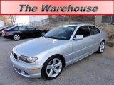 2004 Titanium Silver Metallic BMW 3 Series 325i Coupe #59415380