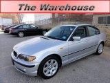2004 Titanium Silver Metallic BMW 3 Series 325i Sedan #59415379