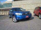 2008 Blue Streak Metallic Toyota Highlander Limited 4WD #59416063