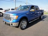 2012 Blue Flame Metallic Ford F150 XLT SuperCrew 4x4 #59415306