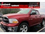 2009 Inferno Red Crystal Pearl Dodge Ram 1500 SLT Quad Cab #59415659