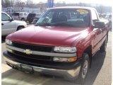 Victory Red Chevrolet Silverado 1500 in 2002