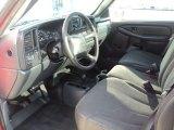 2002 Chevrolet Silverado 1500 Work Truck Regular Cab 4x4 Graphite Gray Interior