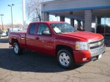 2008 Victory Red Chevrolet Silverado 1500 LT Extended Cab 4x4 #59415591