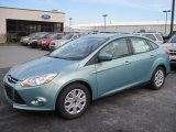 2012 Frosted Glass Metallic Ford Focus SE Sedan #59478795
