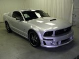 Satin Silver Metallic Ford Mustang in 2006