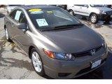 2007 Galaxy Gray Metallic Honda Civic EX Coupe #5943372