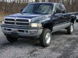2001 Patriot Blue Pearl Dodge Ram 1500 SLT Club Cab 4x4 #59478990