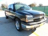 2004 Black Chevrolet Silverado 1500 LS Extended Cab #59478623