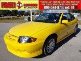 2003 Yellow Chevrolet Cavalier LS Sport Coupe #59478853