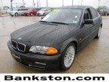 2001 Jet Black BMW 3 Series 330i Sedan #59478314