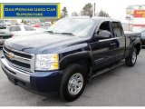 2009 Imperial Blue Metallic Chevrolet Silverado 1500 LS Extended Cab 4x4 #59478297