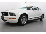 2005 Performance White Ford Mustang V6 Premium Coupe #59478272
