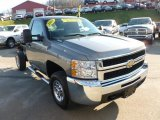 2008 Chevrolet Silverado 2500HD Work Truck Regular Cab 4x4 Chassis Data, Info and Specs