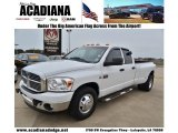 2008 Bright White Dodge Ram 3500 Big Horn Edition Quad Cab Dually #59478592