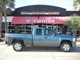 2007 Blue Granite Metallic Chevrolet Silverado 1500 LT Extended Cab #59528890