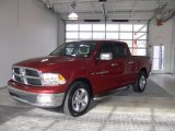 2011 Deep Cherry Red Crystal Pearl Dodge Ram 1500 Big Horn Crew Cab #59529447