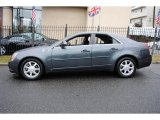 Thunder Gray ChromaFlair Cadillac CTS in 2009