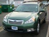 2012 Cypress Green Pearl Subaru Outback 2.5i Premium #59528819
