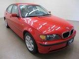 2005 Electric Red BMW 3 Series 325i Sedan #59528794