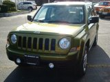 2012 Rescue Green Metallic Jeep Patriot Latitude 4x4 #59528748