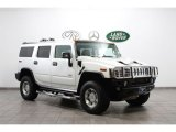 2003 White Hummer H2 SUV #59529346
