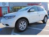 2012 Pearl White Nissan Murano SL #59529076