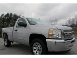 2012 Silver Ice Metallic Chevrolet Silverado 1500 LT Regular Cab #59529064