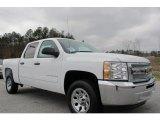 2012 Summit White Chevrolet Silverado 1500 LS Crew Cab #59529063