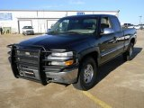 2002 Onyx Black Chevrolet Silverado 1500 LS Extended Cab 4x4 #59528656