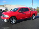 2009 Flame Red Dodge Ram 1500 ST Crew Cab 4x4 #59529272