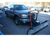 2006 GMC Sierra 2500HD SLT Extended Cab 4x4 Plow Truck Front 3/4 View