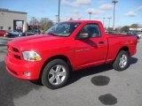 2012 Flame Red Dodge Ram 1500 Express Regular Cab 4x4 #59529268
