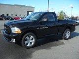 2012 Black Dodge Ram 1500 Express Regular Cab #59529267