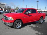 2012 Flame Red Dodge Ram 1500 Big Horn Crew Cab 4x4 #59529266