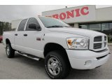 2007 Bright White Dodge Ram 3500 Sport Quad Cab 4x4 #59529014