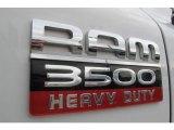 2007 Dodge Ram 3500 Sport Quad Cab 4x4 Marks and Logos