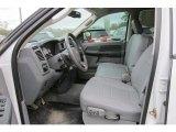 2007 Dodge Ram 3500 Sport Quad Cab 4x4 Medium Slate Gray Interior