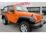 2012 Crush Orange Jeep Wrangler Sport 4x4 #59529007