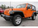 2012 Jeep Wrangler Crush Orange