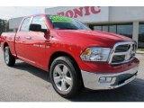 2012 Flame Red Dodge Ram 1500 Big Horn Quad Cab #59529002