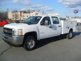 2012 Chevrolet Silverado 2500HD Work Truck Crew Cab Chassis Data, Info and Specs