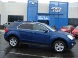 2010 Navy Blue Metallic Chevrolet Equinox LT AWD #59528974