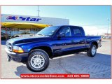 2004 Patriot Blue Pearl Dodge Dakota Sport Quad Cab #59583819