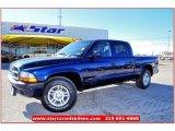 2004 Patriot Blue Pearl Dodge Dakota Sport Quad Cab #59583819