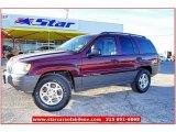 2002 Dark Garnet Red Pearlcoat Jeep Grand Cherokee Laredo #59583817