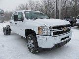 2012 Chevrolet Silverado 3500HD WT Crew Cab 4x4 Chassis Data, Info and Specs