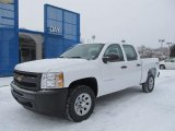 2012 Summit White Chevrolet Silverado 1500 Work Truck Crew Cab 4x4 #59583533