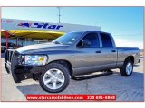 2008 Mineral Gray Metallic Dodge Ram 1500 Lone Star Edition Quad Cab #59583815