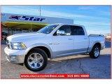 2010 Stone White Dodge Ram 1500 Laramie Crew Cab #59583814